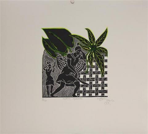 Laurie Nona, Gardening, Torres Strait