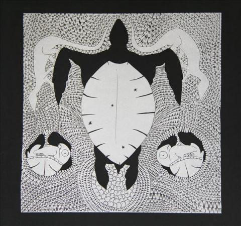 Gehmat Nona Badu Art Centre turtle eggs