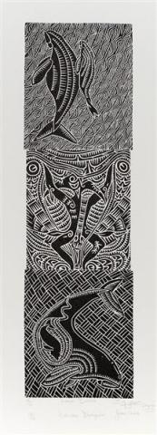 Joseph Au Badu Art Centre artwork apu kaz & lagau baiwa