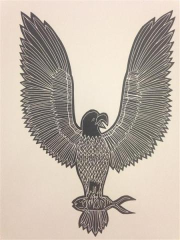 Joseph Au Badu Art Centre artwork ngagalayg