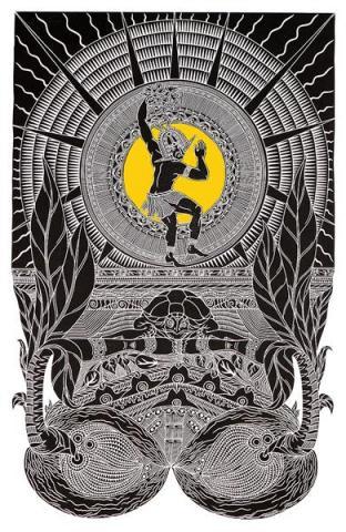 Laurie Nona Badu Art Centre Goegapa Kabminaik Dance Till Day Light artwork