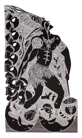 Laurie Nona Badu Art Centre ngulaig hugnai mabaig knowledge carrier artwork